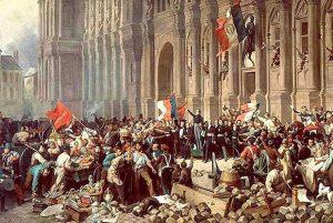 la commune de Paris, histoire de la vie politique de l'Empire à la commune de Paris